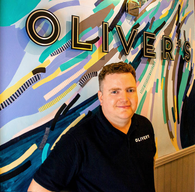 Oliver Leach of Oliver's Coffee Shop and Wine Bar