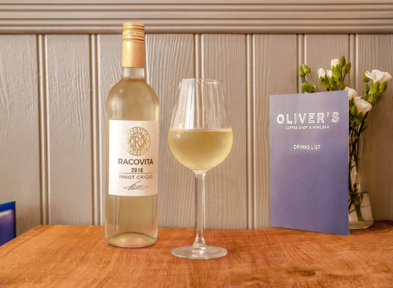 Image of Pinot Grigio at Olivers Wine Bar