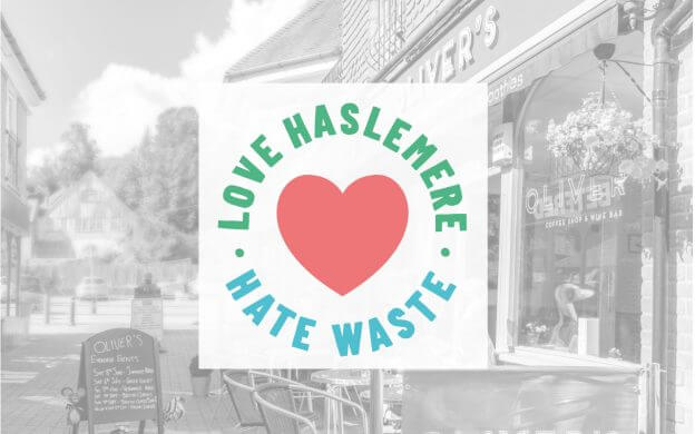 An image of the Love Haslemere Hate Waste Logo